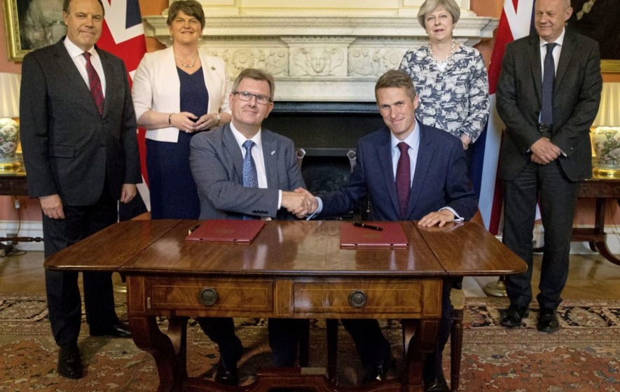 Prime minister affirms stance disagreeing with DUP opposition to gay marriage