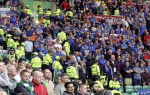 Linfield-Celtic tie shows no repeat of Friday's scenes