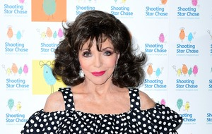 Actress Joan Collins comments on BBC pay gap dispute