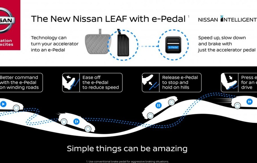 Nissan's newest Leaf will only need one pedal