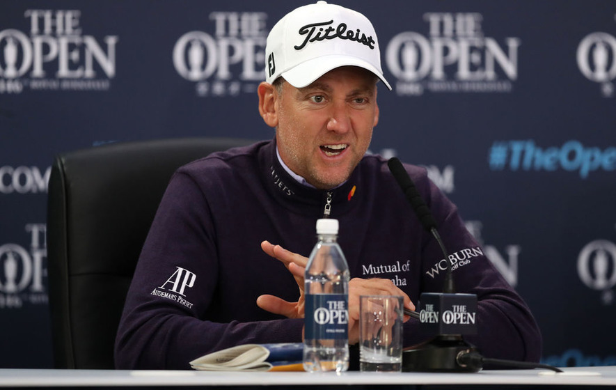 Ian Poulter makes ideal start on day one of Open Championship