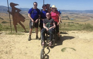 Anto Finnegan takes on the Camino to raise awareness of Motor Neurone Disease