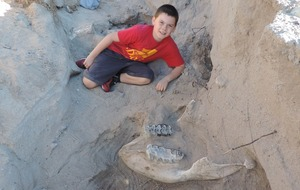 This nine-year-old boy literally stumbled across an incredibly rare, 1.2 million-year-old fossil