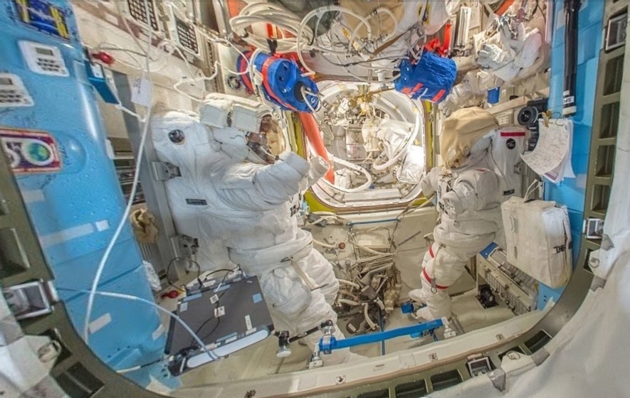 Google Street View adds the International Space Station to its tours