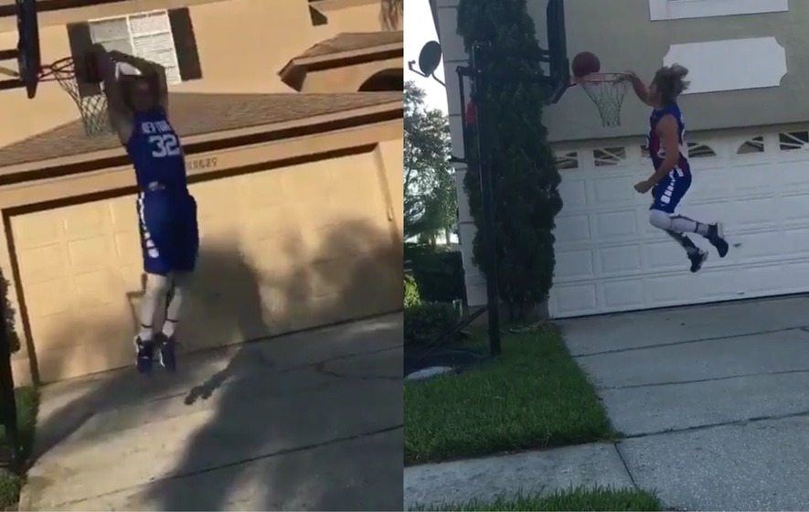 Check out the new Drive By Dunk Challenge taking the internet by storm