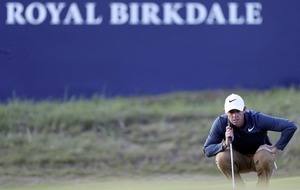 Rory McIlroy turns things around after horror start at Birkdale