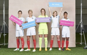 England stars join Disney to counter 'pink and flowery' perception of princesses