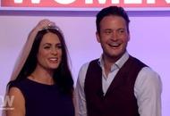 Footballers' Wives stars recreate famous wedding scene