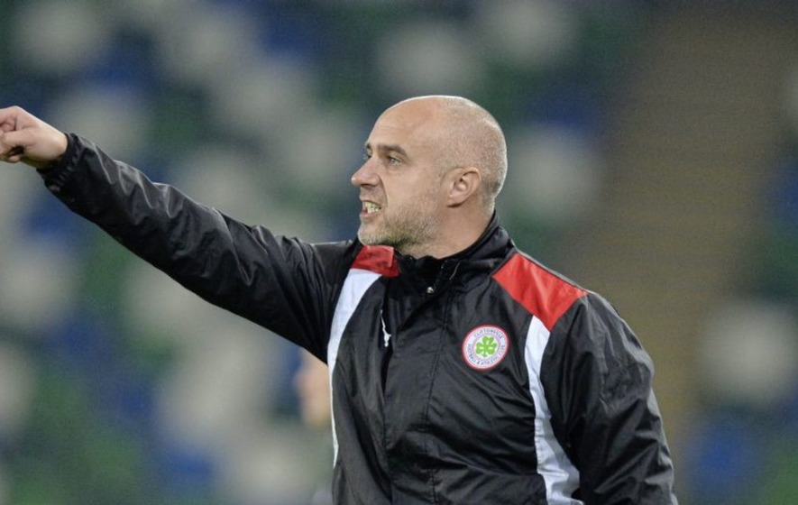 Former Cliftonville boss Gerard Lyttle loving life in Sligo