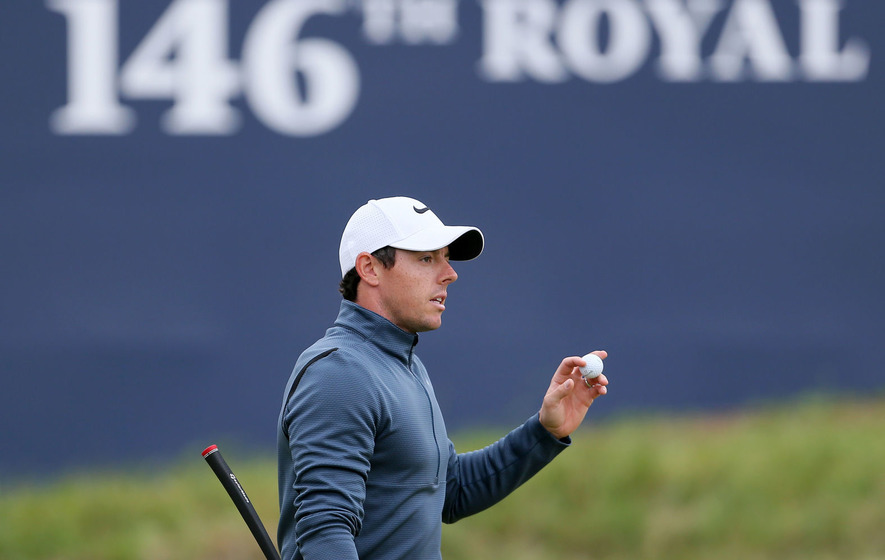 Weather becomes a factor at British Open