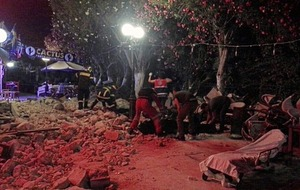 Two killed on Greek island of Kos after powerful earthquake in region