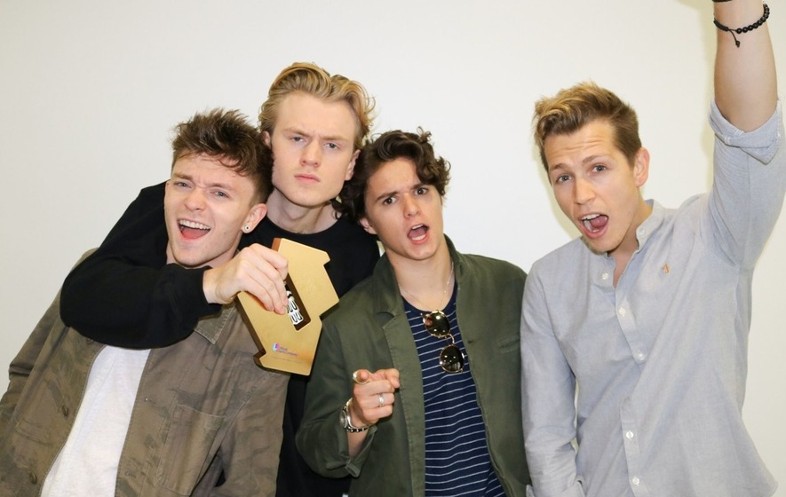 Ed Sheeran knocked off top spot as The Vamps scoop first number one album