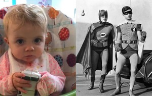 Watch: This adorable little girl's first word will bring joy to DC Comics fans the world over