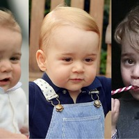 Prince George turns four: 19 photos to show you how the future king has grown