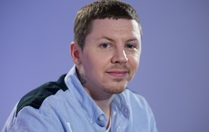 Professor Green says he was subjected to abuse by Britain First supporters