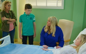 It was surreal working with Lucy Benjamin, says EastEnders' Tilly Keeper