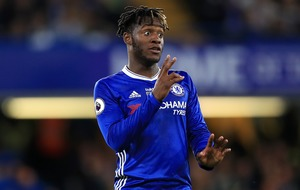 Michy Batshuayi is keeping a pretty close eye on his pre-season stats by the look of it