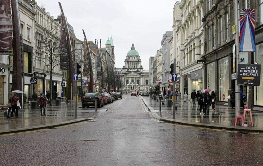 Belfast is world's 8th fastest growing retail city