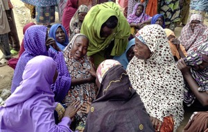 At least eight dead after female suicide-bombers attack displaced persons camps