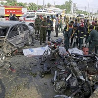At least 26 people killed following suicide-bomber attack in Pakistan