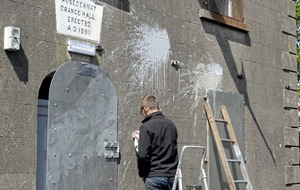 Spate of attacks on Orange halls over the weekend