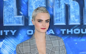 "Cara Delevingne says she ""didn't like the person"" she was as a model"