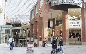 A decade on and Victoria Square is defying the downturn