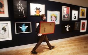 Banksy beats art heavyweights in Britain's favourite work