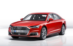 Audi A8: The car of the future, now