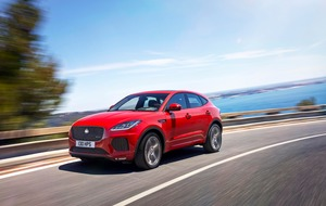 Jaguar leaps further into the SUV market with E-Pace