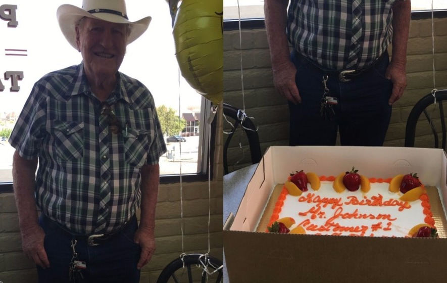This grandpa had the most incredible surprise 80th birthday party at his favourite fast food joint