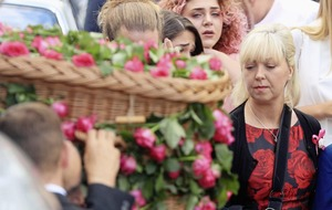 Funeral for youngest victim of Manchester Arena bombing