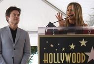 Jennifer Aniston praises 'fantastic partner in crime' Jason Bateman at Hollywood star ceremony