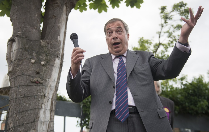 Nigel Farage got more than he bargained for when he urged youngsters to go to the cinema