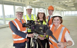 UTV set for first class production with McLaughlin & Harvey