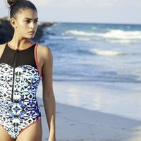 7 swimsuits that are sporty enough for swimming but trendy enough for the beach