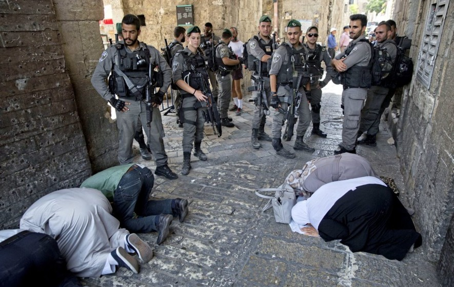 Jew Detector: Jerusalem Muslims Return To Pray At Holy Site After Israel