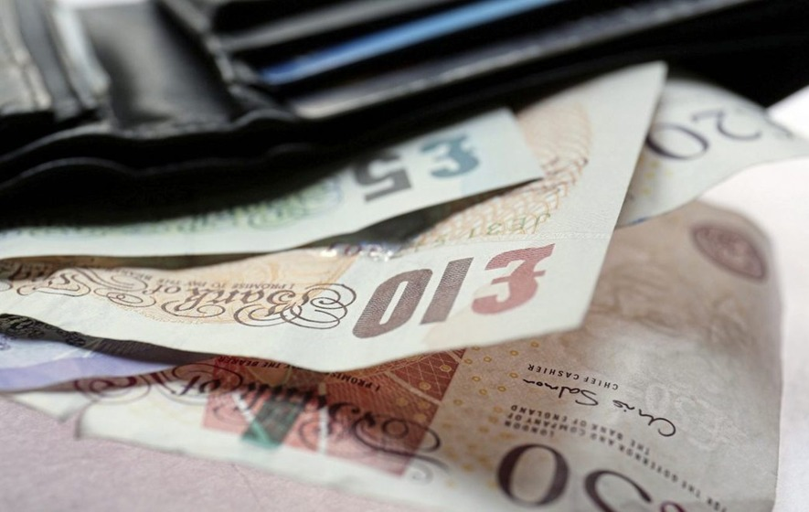 Households left with £97 a week when all the bills are paid