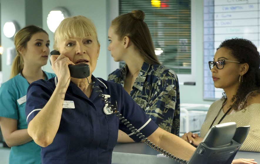 Casualty actress Cathy Shipton defends co-star Derek Thompson's BBC salary