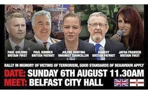 Belfast rally featuring far-right leaders to take place close to planned republican parade