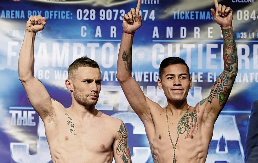 Carl Frampton contest with Andres Gutierrez called off