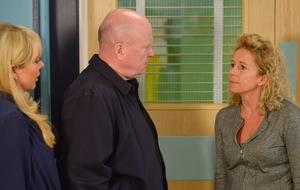 Tensions to mount as EastEnders' Lisa refuses to leave Louise in hospital