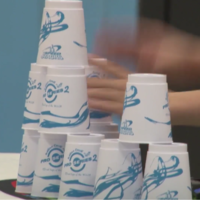 Get ready to be way more impressed than you might have anticipated over speed stacking