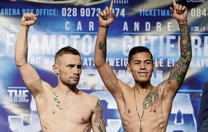 Frampton fight could go ahead before Christmas