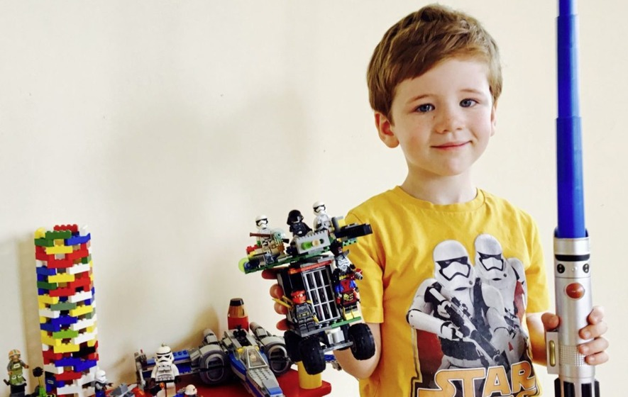 Co Tyrone Lego inventor Leo bound for a career in engineering says mum