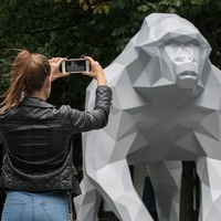 Augmented reality animals come to life in this futuristic London exhibition