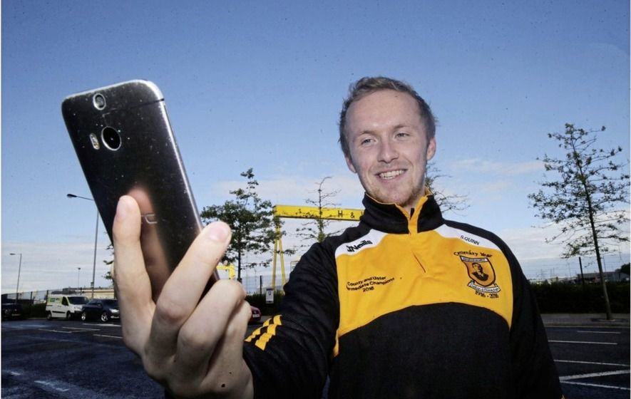 Footballer creates mobile app for fans to follow GAA matches