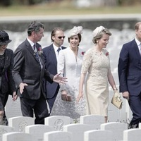 Charles hails 'sacrifice' of British troops at Passchendale centenary ceremony