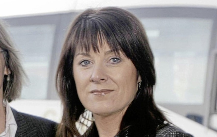 Sport NI chief executive Antoinette McKeown back at her desk