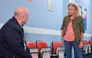 EastEnders viewers fear for Louise after she is kidnapped by her mother